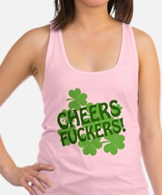 88472 CHEERS Racerback Tank Top