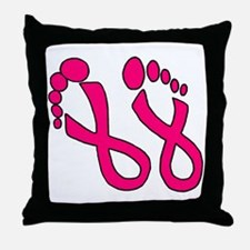 ZTATTOO-TEMP-PROOFED Throw Pillow