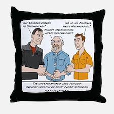 RockRockRock Throw Pillow