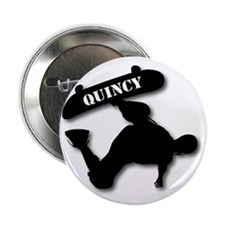 "Sk8-T-10x10-QUINCY 2.25"" Button"