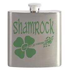 shamrock-white Flask