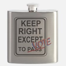 keeprightvote4white Flask