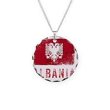 GrungeAlbania2Bk Necklace