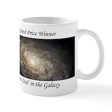 Best Dad in Galaxy Mug astronomy gift