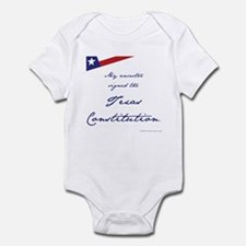 Texas Constitution Infant Bodysuit