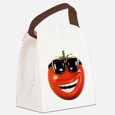 3d-tomato-shades Canvas Lunch Bag