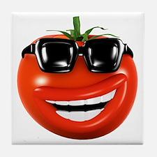 3d-tomato-shades Tile Coaster
