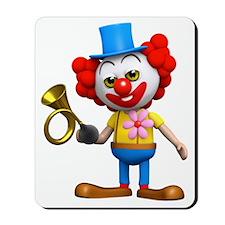 3d-clown-horn Mousepad