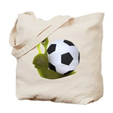 3d-snail-football Tote Bag