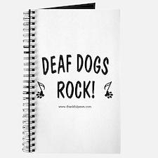 Deaf Dogs Rock Journal