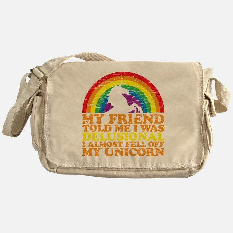 UNicorndrk copy Messenger Bag