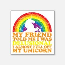 "UNicorndrk copy Square Sticker 3"" x 3"""