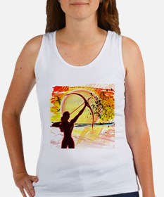 Katniss Radiant as The Sun Women's Tank Top