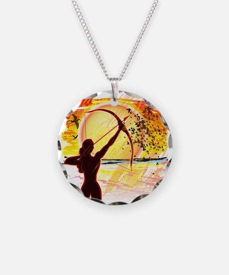 Katniss Radiant as The Sun Necklace