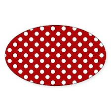red-polkadot-laptop-skin Decal