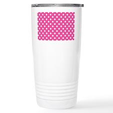 pink-polkadot-laptop-skin Travel Mug