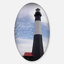 lightdad Sticker (Oval)