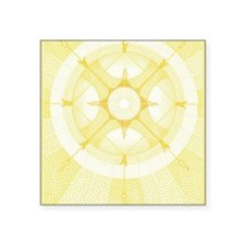 """CardFront-Ifa Square Sticker 3"""" x 3"""""""