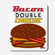 BaconDoubleCheese-2012-cp Mousepad
