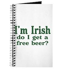 Irish Do I Get a Free Beer? Journal