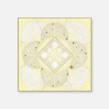 "CardFront-Oxum Square Sticker 3"" x 3"""