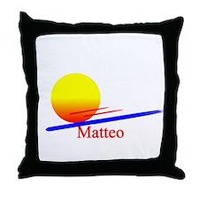Matteo Throw Pillow