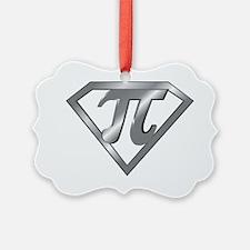Super Pi 3D Gray2 Ornament