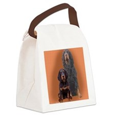 Gordon Setter Two Canvas Lunch Bag