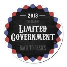 feb12_religious_liberty_badge Round Car Magnet