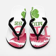 kiss-me_pink Flip Flops