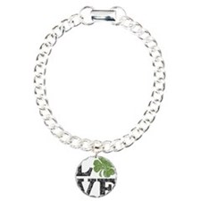 love_shamrock_black Bracelet
