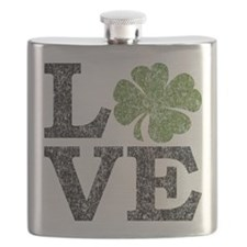love_shamrock_black Flask