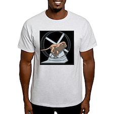 lion-wheel-TIL T-Shirt