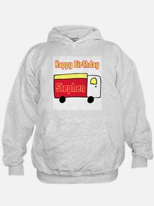 Happy Birthday Truck Steven Hoodie