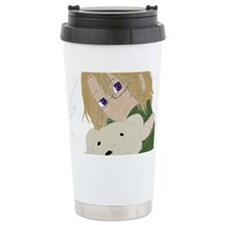 Canada and Kumajiro Travel Mug