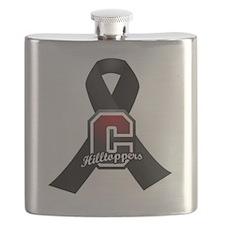 Chardon Black Ribbon Flask