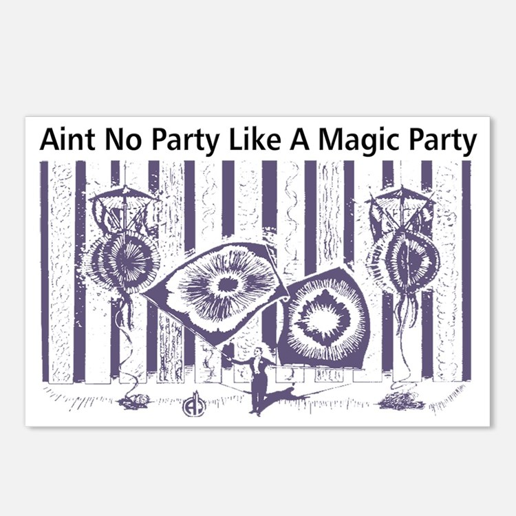 aintnoparty Postcards (Package of 8)