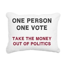 onevote Rectangular Canvas Pillow