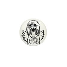 BeardedAngel Mini Button
