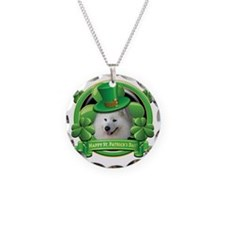 Happy St Patricks Day Samoye Necklace