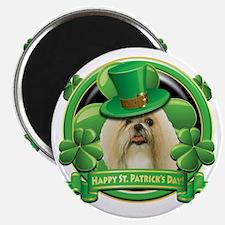 Happy St Patricks Day Shih Tzu Magnet