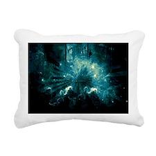 RetroVoyager Rectangular Canvas Pillow