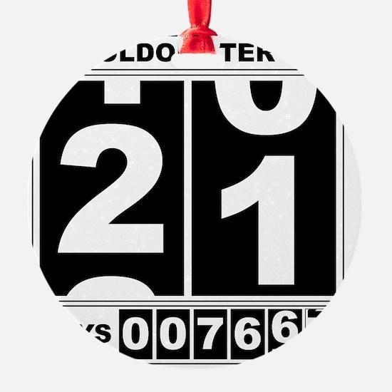 Oldometer 21 Ornament