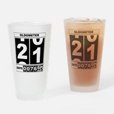 Oldometer 21 Drinking Glass
