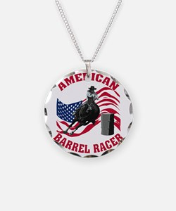 american_barrelracer_red.gif Necklace