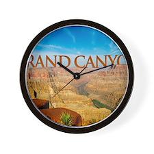 calander_0082_grand canyon1_postcard-2 Wall Clock