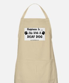 Life With a Deaf Dog BBQ Apron