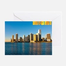 mouse pad_0087_miami3_postcard-2 Greeting Card