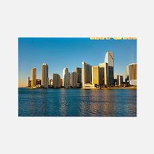 mouse pad_0087_miami3_postcard-2 Rectangle Magnet