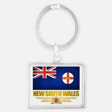 New South Wales (Flag 10) 2 Landscape Keychain
